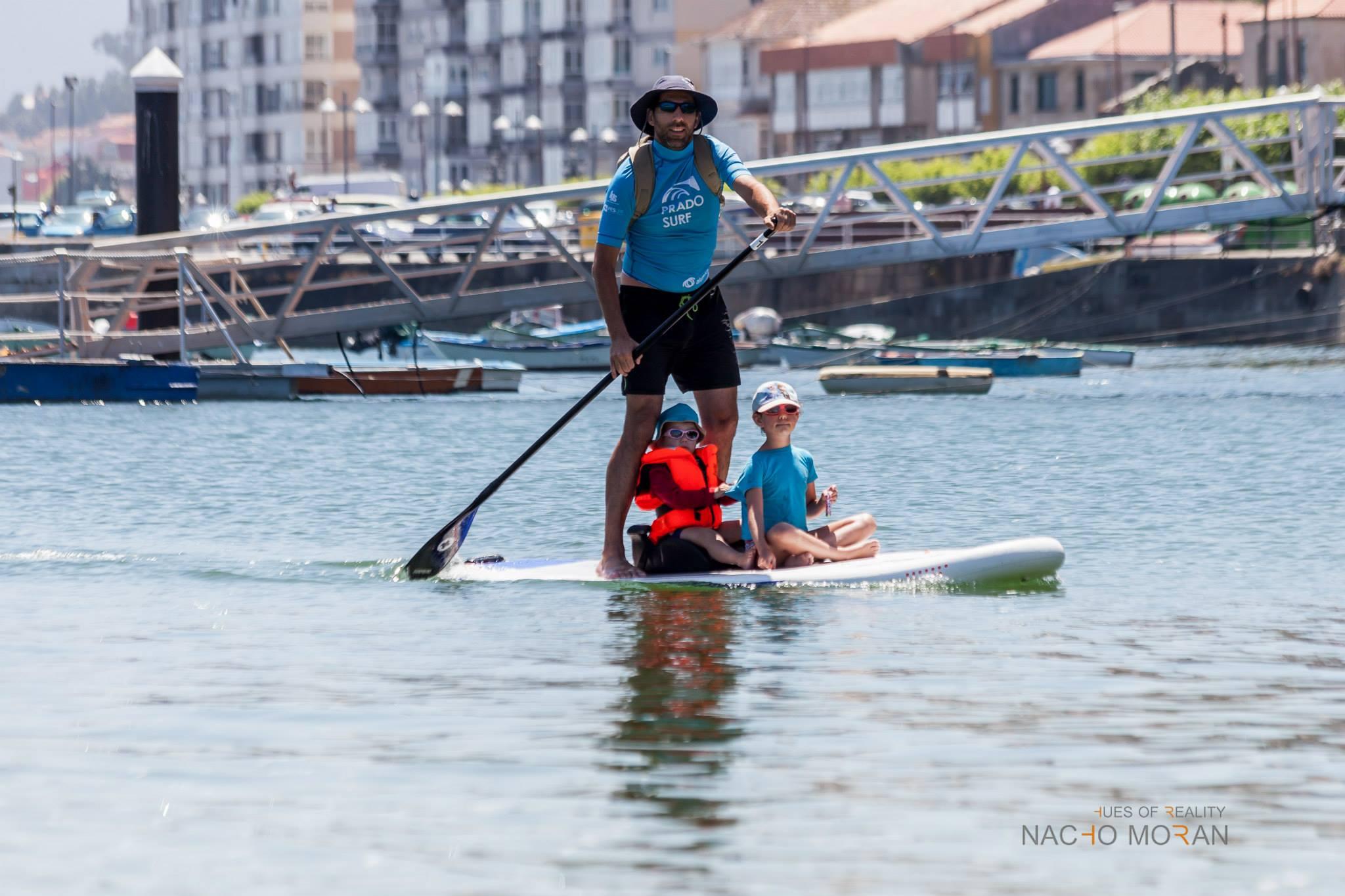 Paddle surf en baiona