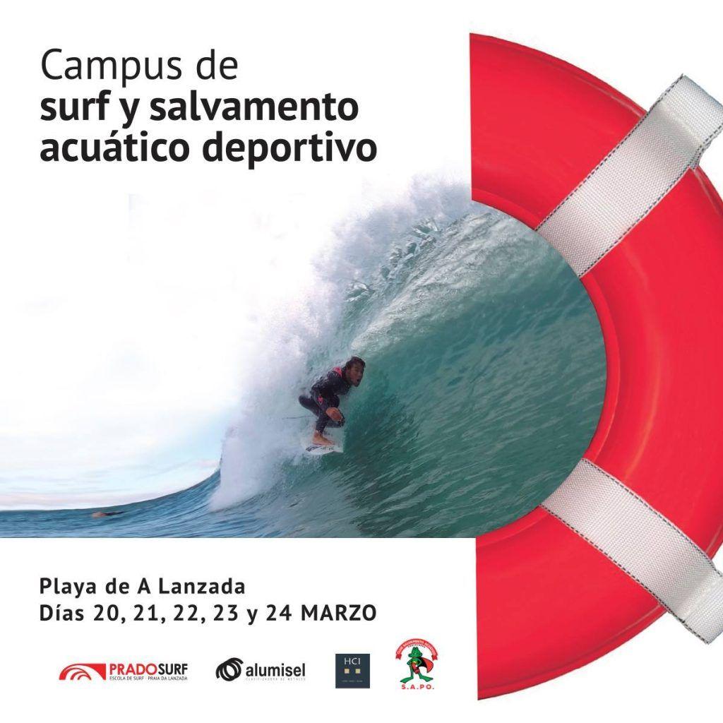 Campus de surf y salvamento acuático deportivo