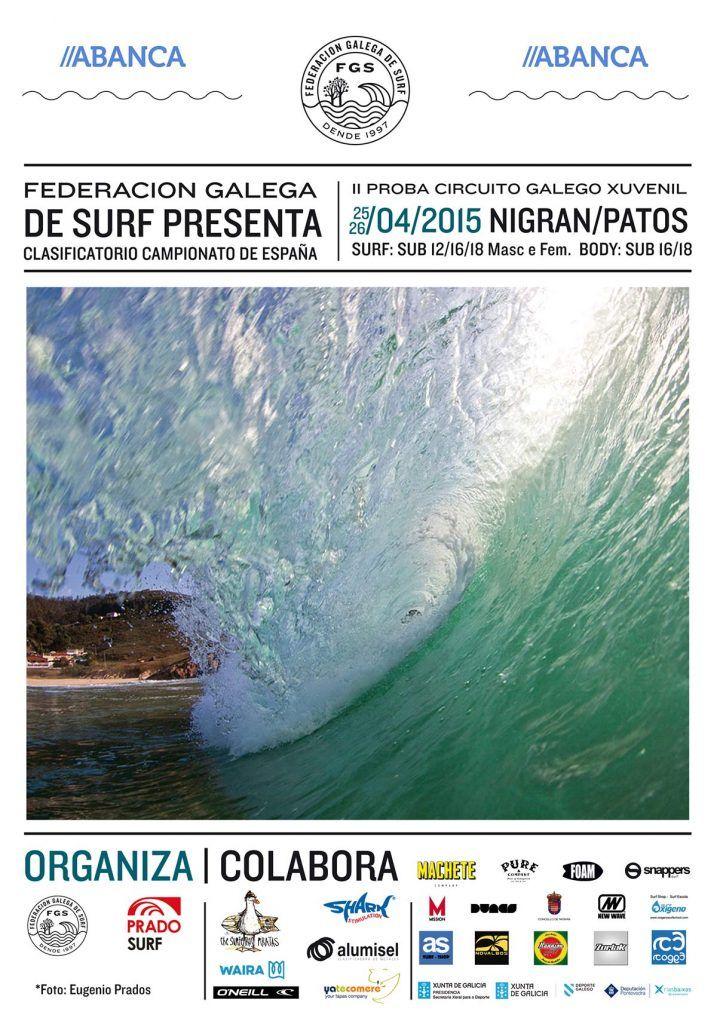 cartel campeonato surf patos 2015