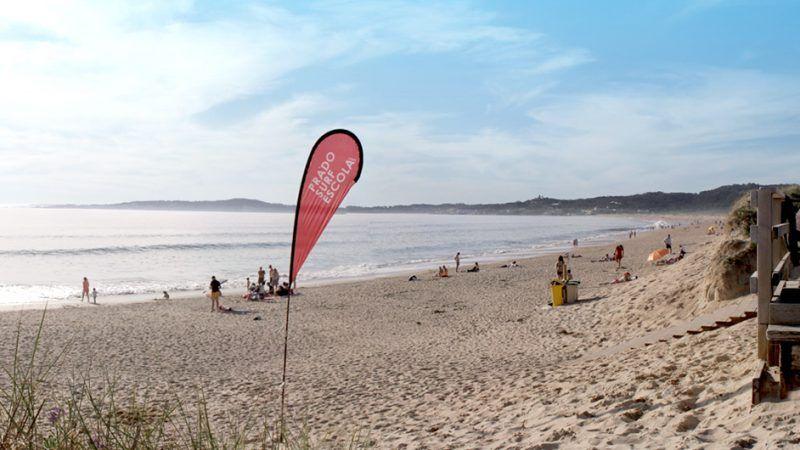 Playa de A Lanzada en Pontevedra