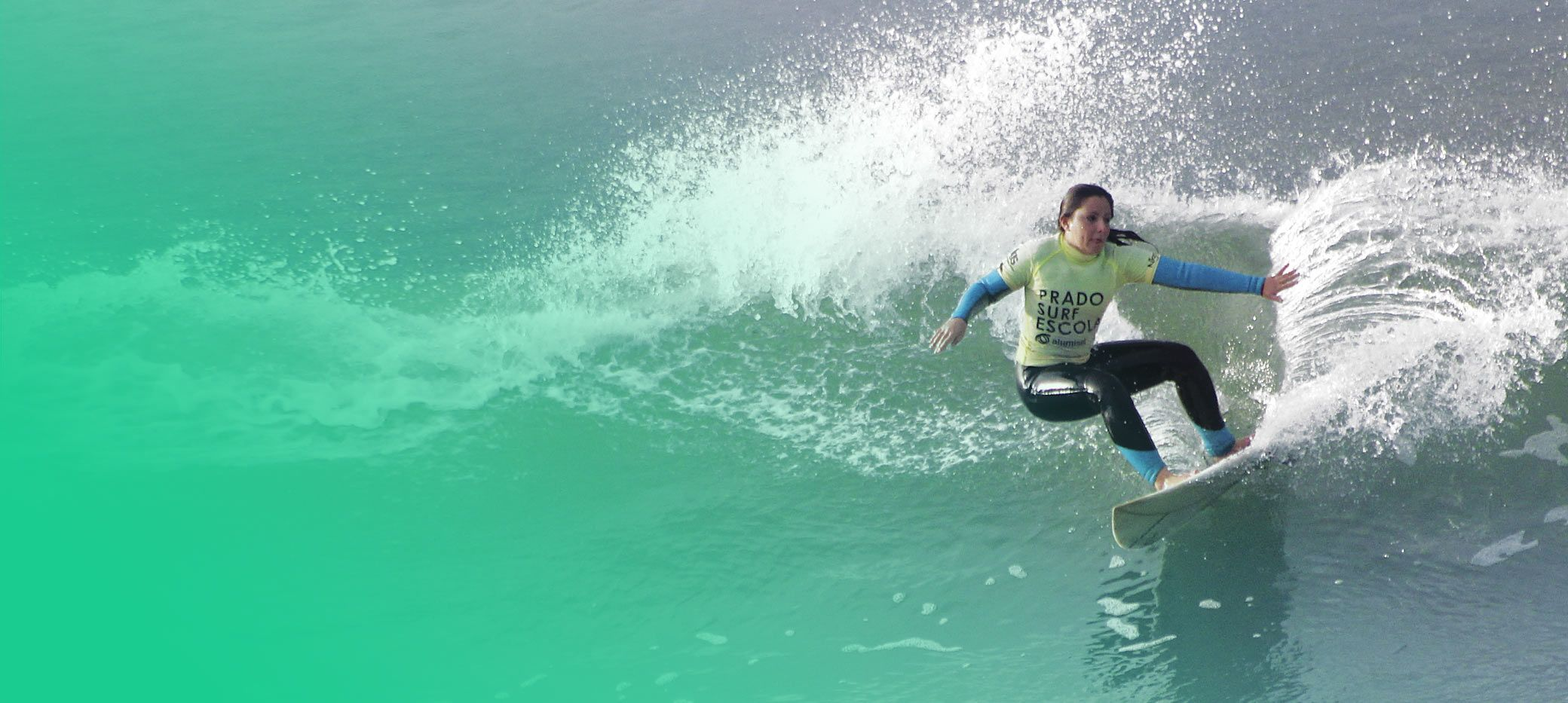 Surfer girl galicia