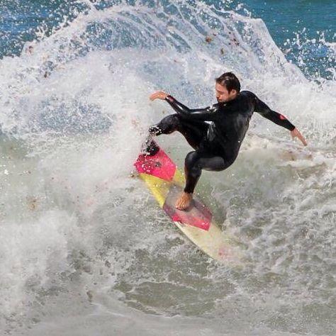 Daniel Sanroman monitor prado surf