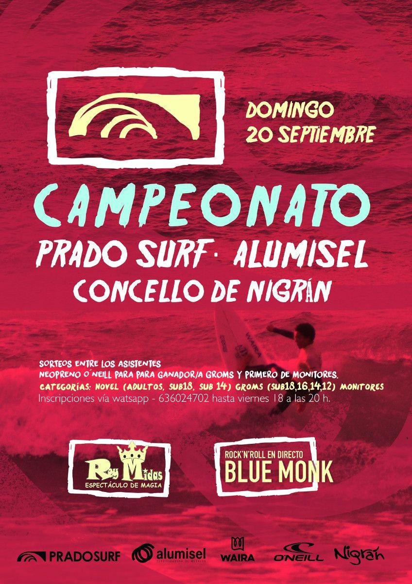 poster campeonato surf nigrán