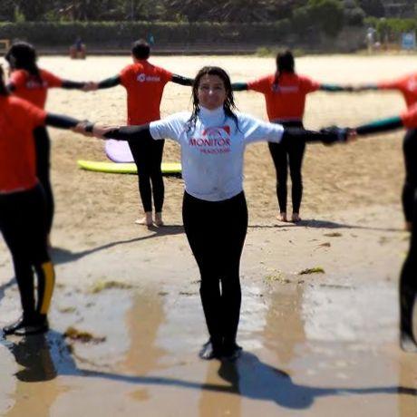 Suana Almeida monitora prado surf a coruña