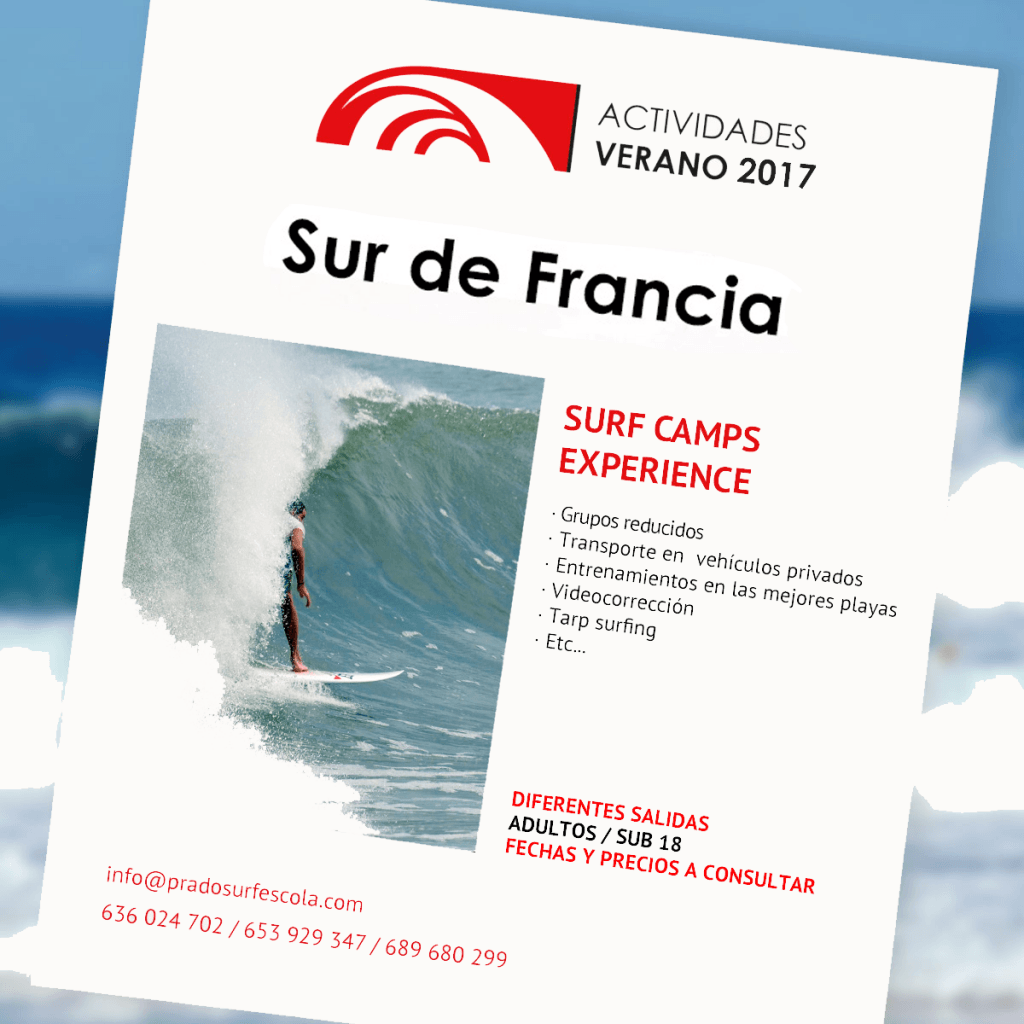 Surf camp en Sur de Francia