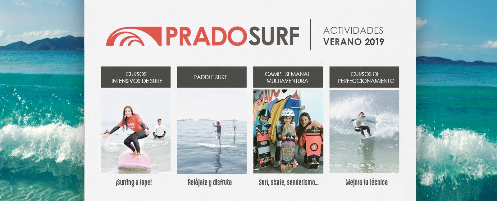 Actividades verano surf 2019