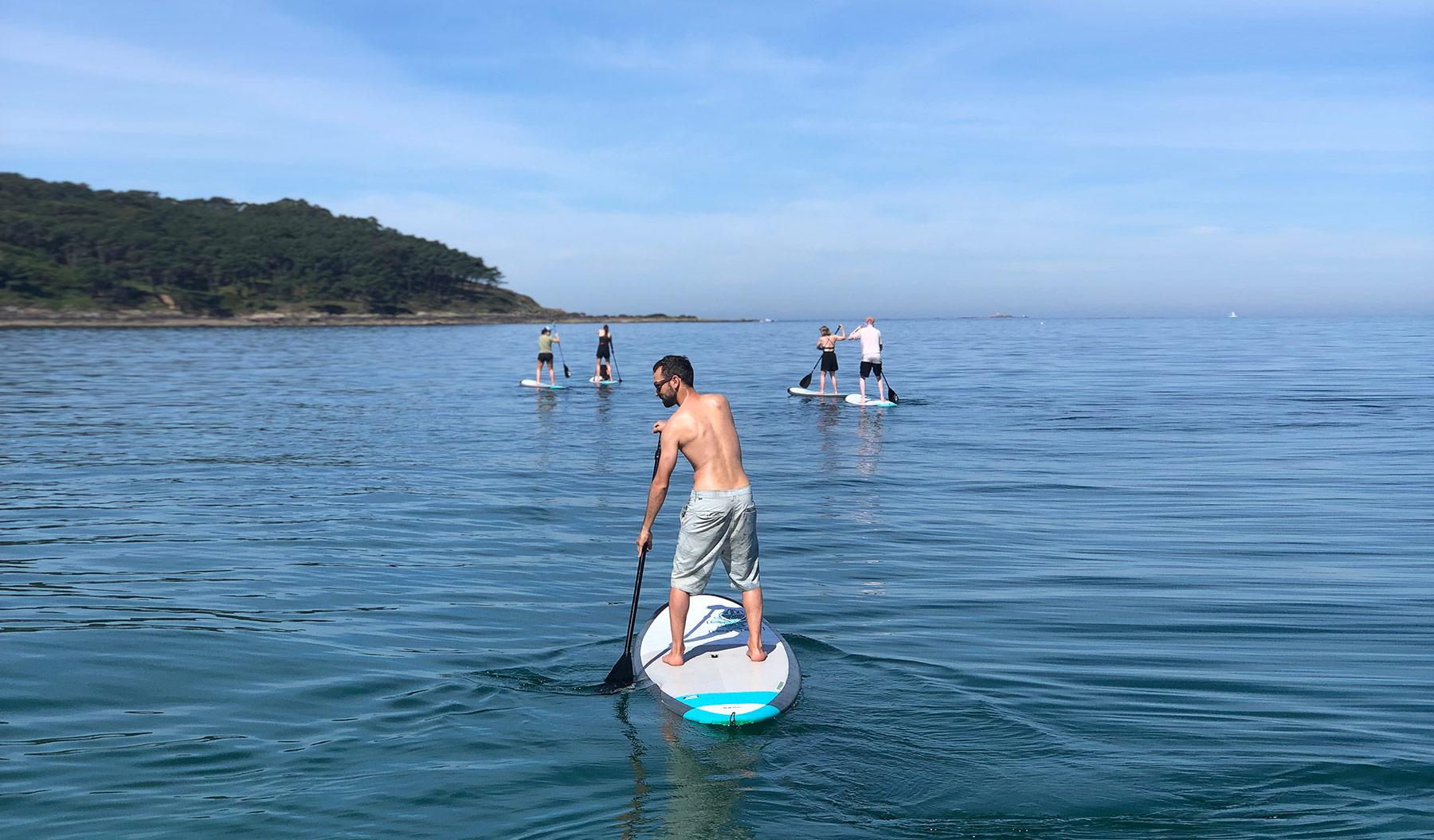 Paddle surf Nigrán Patos