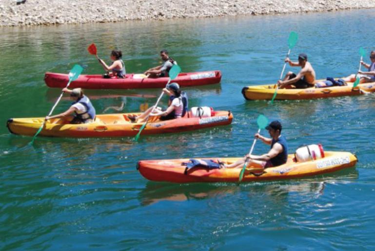 Kayak actividad verano summer camp